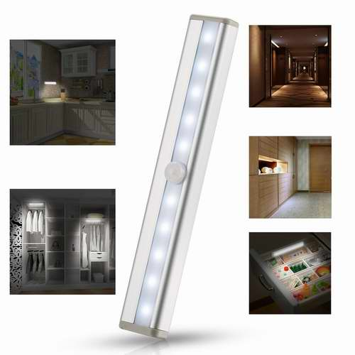 AQV 10 LED 室内运动感应灯/夜灯 9.34加元限量特卖!