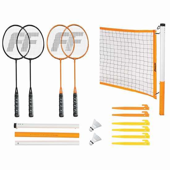 历史新低!Franklin 经典款户外4人羽毛球运动套装3.8折 29.9加元限时特卖!