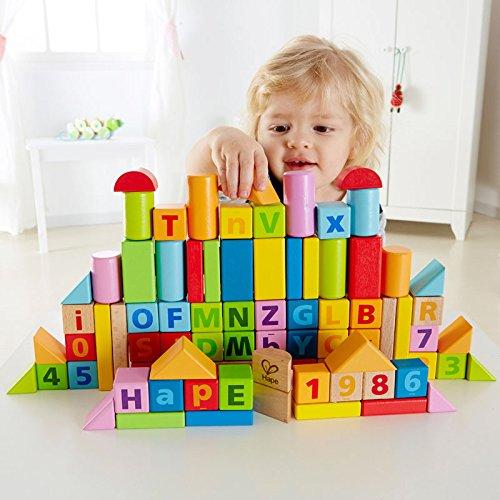Hape 实木彩色积木80件套5.9折 29.72加元!