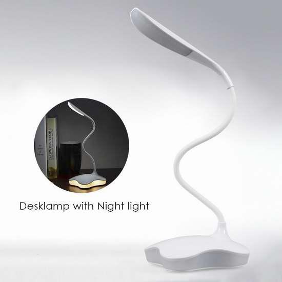 TryLight 充电式LED护眼台灯 12.82加元限量特卖!