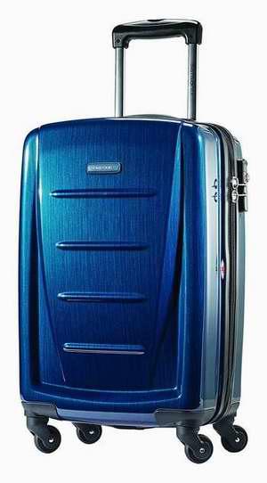 Samsonite 新秀丽 Luggage Winfield 2 20寸深蓝色超轻拉杆行李箱 106.51加元限时特卖并包邮!