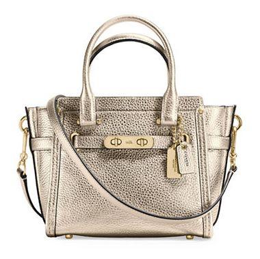 COACH Swagger 21 女士时尚手提包/斜挎包 229.59-243.94加元限时特卖并包邮!