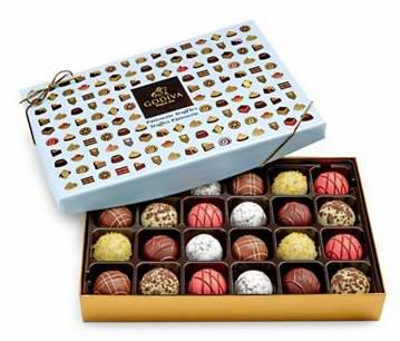 精选78款 GODIVA 歌帝梵、Lindt 瑞士莲 等品牌巧克力、干杂食品礼盒等2.5折起清仓!额外再打9折!