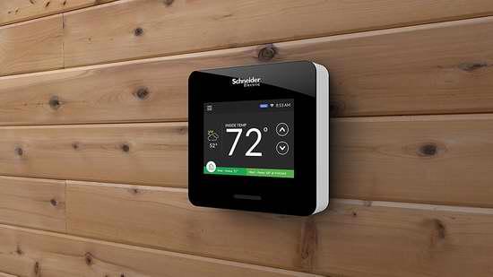 金盒头条:历史新低!Schneider 施耐德 Electric Wiser Air Wi-Fi 无线智能节能 空调/暖炉 温控器 161.99加元限时特卖并包邮!两色可选!