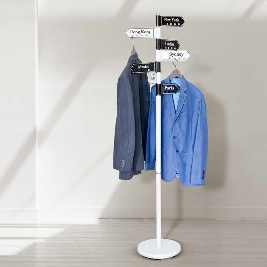 Tatkraft Karta Clothes 创意路标衣架 59.45加元限量特卖并包邮!