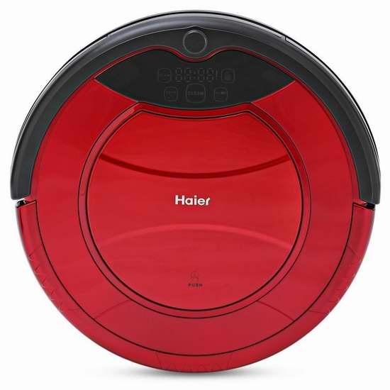 历史新低!6小时闪购:Haier 海尔 SWR-T320 探路者 智能扫地机器人 186.99加元起限量特卖并包邮!三色可选!