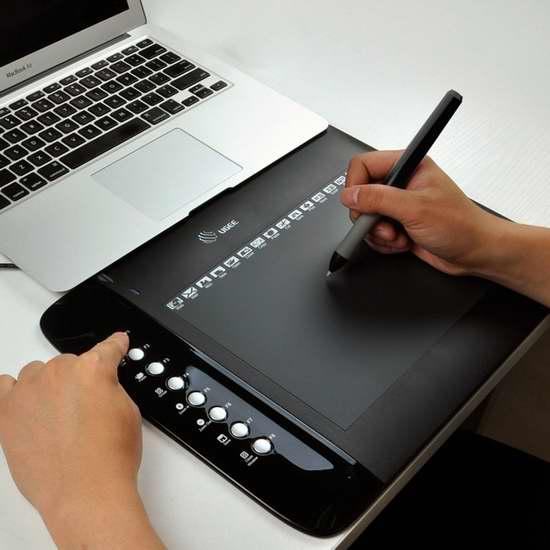 Ugee 友基 M1000L 数位手绘板/手写板/绘图板 46.66加元限量特卖并包邮!