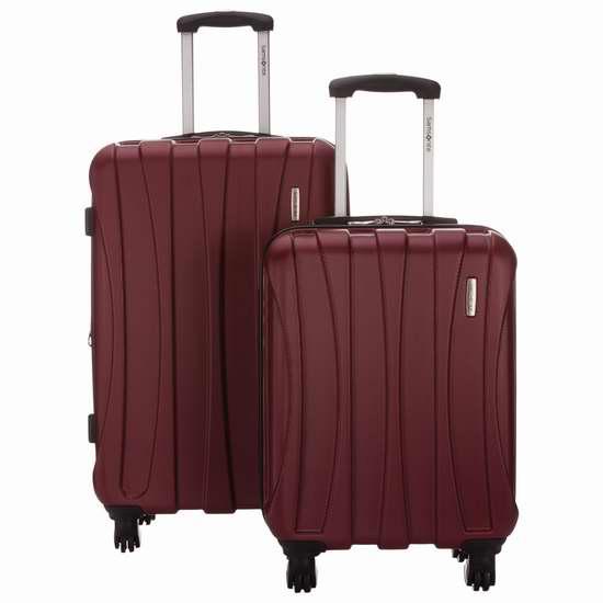 Samsonite 新秀丽 Nesbitt 21.5/27.5英寸拉杆行李箱2件套2.8折 169.99加元限时特卖并包邮!两色可选!