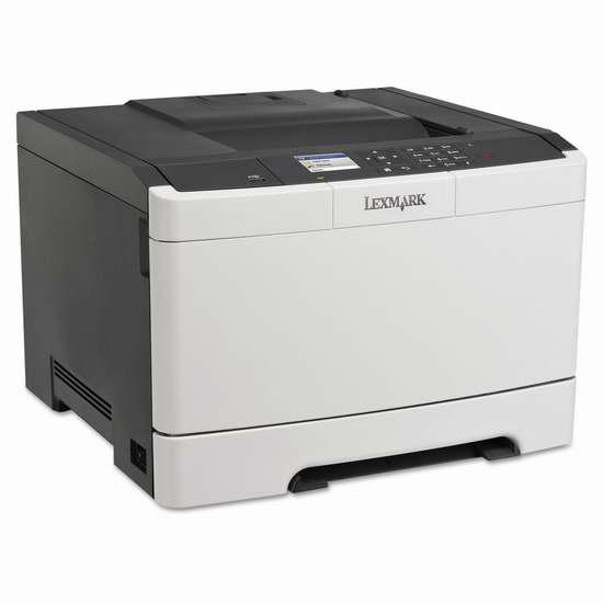 历史新低!Lexmark 利盟 CS410dn 专业彩色激光打印机 189.99加元限时特卖并包邮!