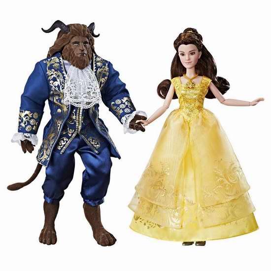金盒头条:精选34款 Disney 迪士尼 Belle、Cinderella 等公主玩具、玩偶3.4折起限时特卖!
