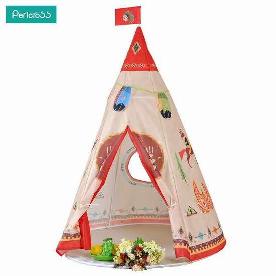 pericross 室内/户外 印第安风格儿童帐篷 32.29加元限量特卖并包邮!