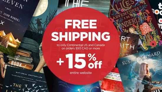 Book Outlet 全场书籍特价销售,额外再打8.5折!全场满50加元包邮!