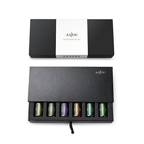 金盒头条:Anjou Top 6 香薰精油6件套礼盒装 19.49加元特卖!