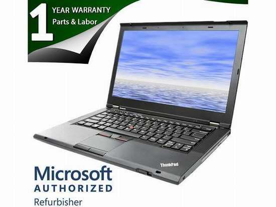 翻新 Lenovo 联想 T430 14英寸笔记本电脑 330.54加元限时特卖并包邮!