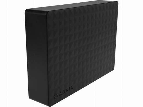 Seagate 希捷 新睿翼 Expansion 5TB USB 3.0 桌面外置式大容量移动硬盘 134.59加元限时特卖并包邮!