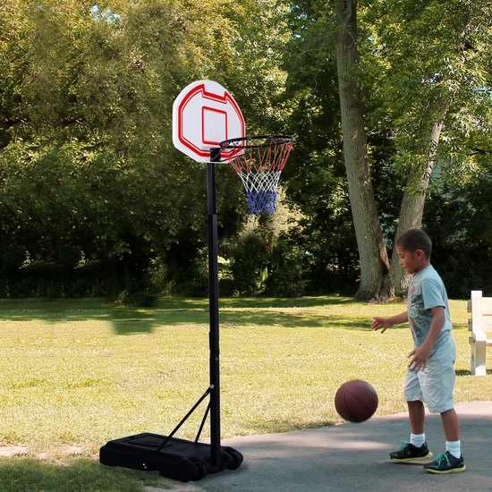 29英寸便携式篮球架5折 77.54加元限时特卖并包邮!