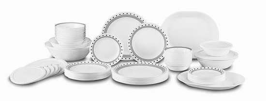Corelle 康宁 Livingware 12人餐具组合74件套 179.96加元限时特卖并包邮!
