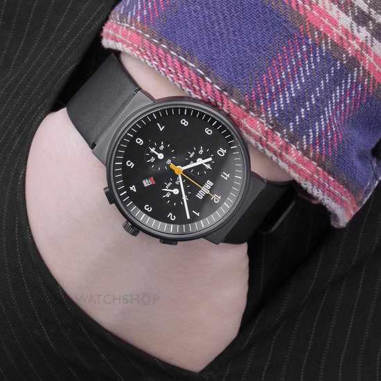 历史新低!Braun 德国博朗 BN0035BKBKG 经典系列 男士时尚三眼石英腕表5.1折 179.89加元限时特卖并包邮!