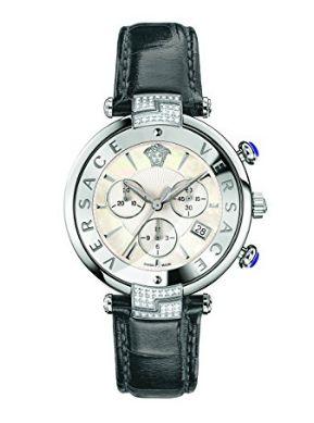 历史新低!Versace 范思哲 REVE VAJ070016 瑞士石英 女士休闲钻石腕表 4436.28加元限时特卖并包邮!