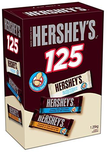 历史新低!Hershey's 好时 巧克力糖果125支装5.1折 15.4加元限时特卖!