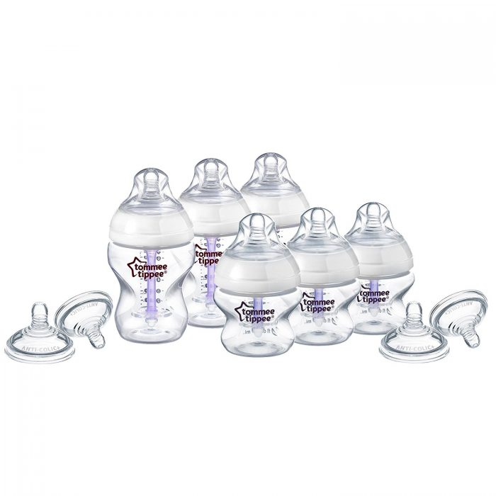 Tommee Tippee 汤美天地 母乳自然系列 防胀气奶瓶超值装 27.47加元,原价 61加元