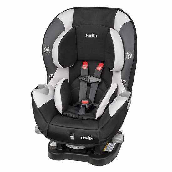 历史新低!Evenflo Triumph LX 成长型儿童汽车安全座椅6.6折 132.87加元包邮!两色可选!