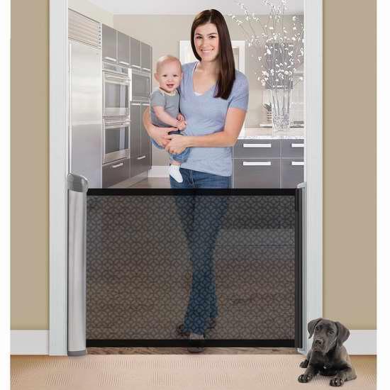 金盒头条:历史最低价!Summer Infant 27253 伸缩式 婴幼儿安全防护门 59.99加元限时特卖并包邮!