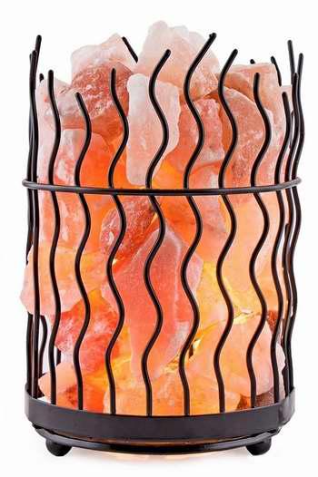 历史新低!Crystal Decor 喜马拉雅纯天然负离子水晶盐灯2.6折 24.99加元限时特卖!