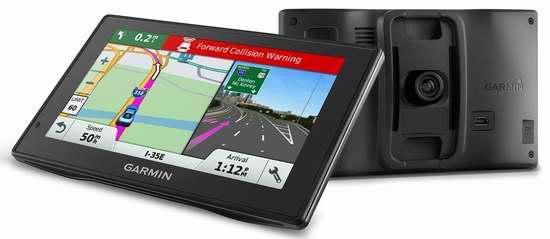 历史新低!Garmin DriveAssist 50 安全守护智能提醒 5英寸GPS卫星导航仪+行车记录仪 309.99加元限时特卖并包邮!