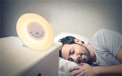 Arespark 模拟日出 多功能自然唤醒灯 39.94加元限量特卖并包邮!