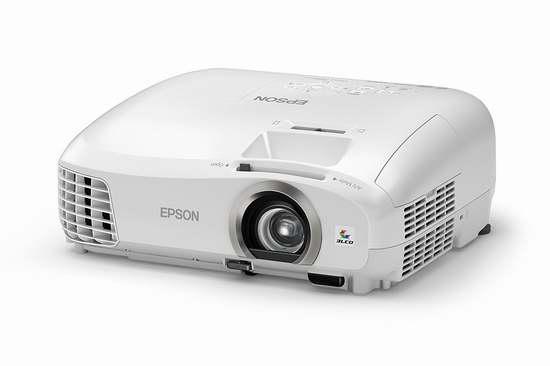 金盒头条:历史新低!翻新 Epson 爱普生 Home Cinema 2040 3D 1080p 家庭影院投影仪 499.99加元限时特卖并包邮!