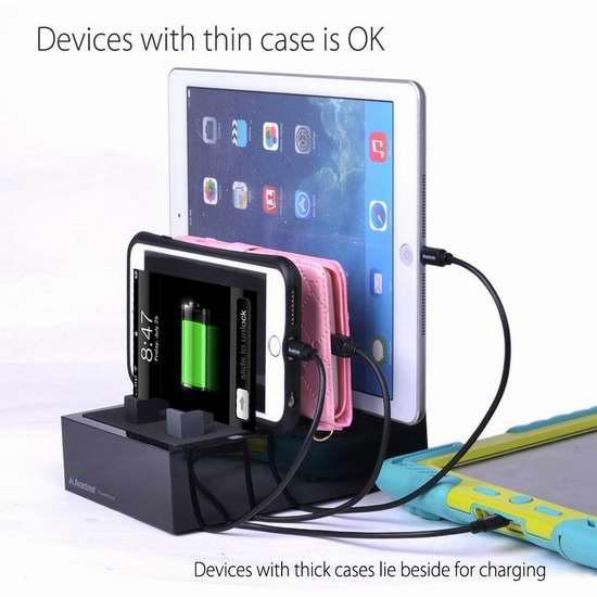 金盒头条:历史新低!Avantree 4口USB快速充电座 31.99加元限时特卖!两色可选!