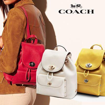 精选10款 Coach 女式时尚真皮美包、背包、钱包7折起限时清仓,额外再打8-8.5折!