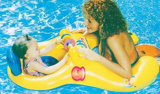 BIGBANBAN 母婴组合安全游泳圈 12.74加元限量特卖!