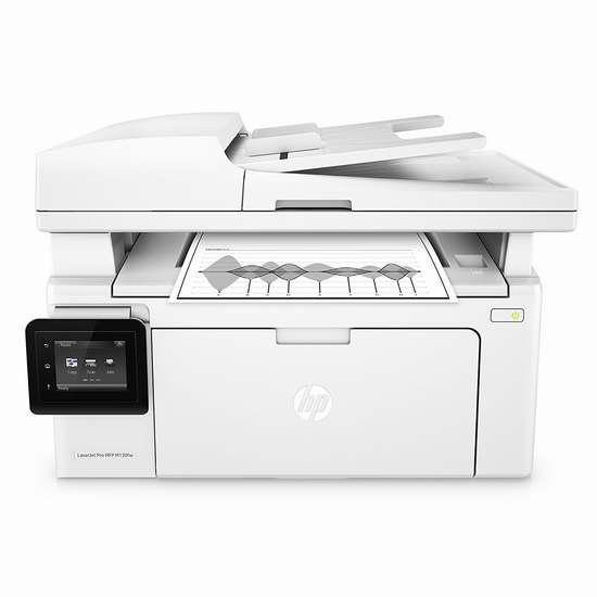 历史新低!HP 惠普 LaserJet Pro MFP M130fw 多功能无线黑白激光打印机4.3折 119.99加元限时特卖并包邮!