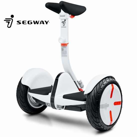 历史新低!超级炫酷 Segway miniPRO 美版小米九号平衡车4折 599.99加元包邮!