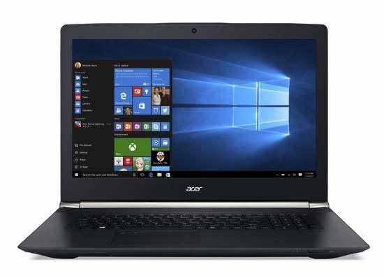 历史新低!Acer 宏碁 V Nitro 17.3英寸游戏笔记本电脑 1249加元限时特卖并包邮!