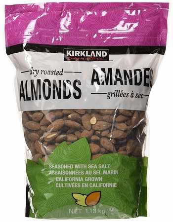 历史新低!Kirkland Signature 盐烤杏仁1.13公斤装5.4折 26.34加元限时特卖!