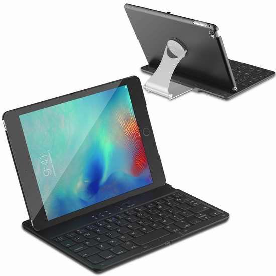 JETech iPad Mini 4 无线蓝牙键盘 31.44加元限量特卖并包邮!