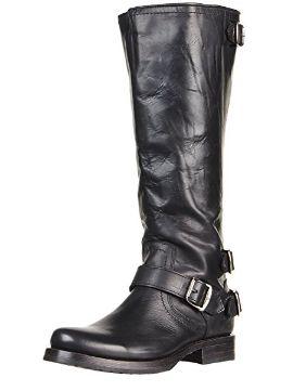 纯手工打造!Frye Veronica 女式顶级真皮平底长筒靴(7码)2.3折 111.4加元起限时特卖并包邮!4色可选!