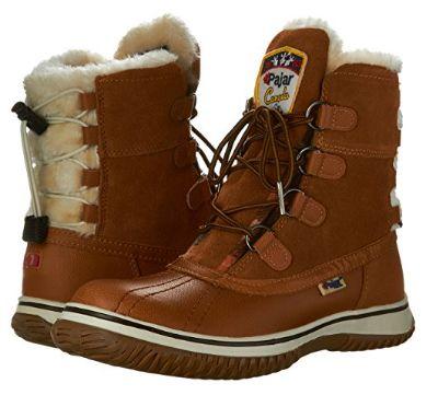 Pajar ICEBERG 女式中帮防水雪地靴 2.7折 53.3加元起清仓并包邮!4色可选!