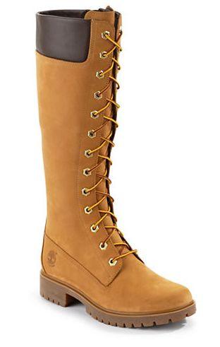 TIMBERLAND拉链系带长筒黄靴 100加元(7码),原价 240加元,包邮
