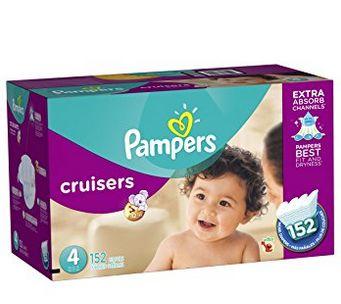 Pampers 帮宝适 Cruisers 系列婴幼儿尿不湿/纸尿裤 28.8加元(4,5,6,7号),原价 49.99加元,会员价 23.78加元