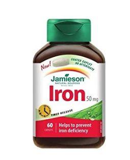 Jamieson Iron 铁补充剂 7.12加元(60粒),原价 10.68加元