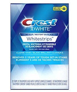 Crest 3d 专业版美白牙贴(10片)5.1折 17.97加元!