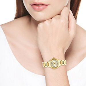 Citizen 西铁城 EU2252-56P 女士金色时尚腕表/手表 100.98加元,原价 125加元,包邮