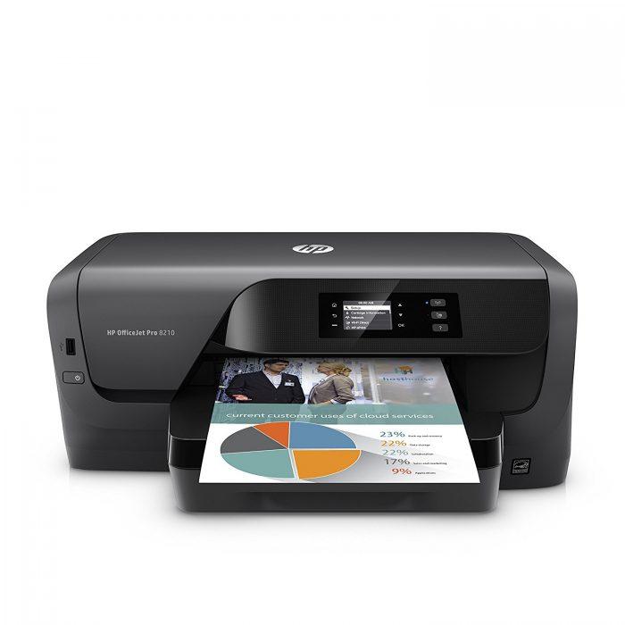 金盒头条:历史新低!HP OfficeJet Pro 8210商用彩色双面打印机 64.99加元,原价 171加元,包邮