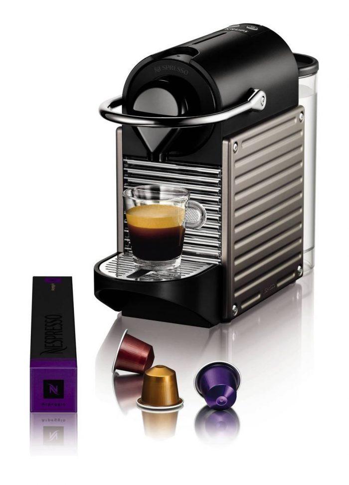 Nespresso Pixie 胶囊咖啡机 159.99加元,原价 233.63加元,包邮