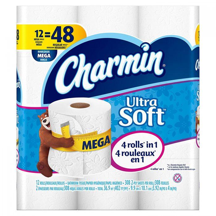 Charmin Ultra 12卷超软卫生纸 14.04加元,原价 18.99加元