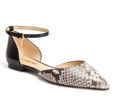COACH Jameson 女士尖头鞋 129加元(7码),原价 215加元,包邮